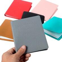 64 Pockets Polaroid Camera Photo Album Holder Pure Color Album for Mini Fuji Instax & Name Card 7s 8 25 50s