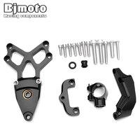 Moto CBR1000 CBR 1000 Motorcycles Aluminum Steering Stabilize Damper damping Bracket Mount Kit For Honda CBR1000 2008 2014