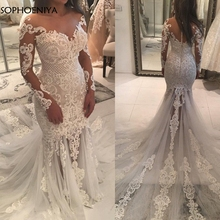 Sophoeniya Mermaid wedding dress bride dress