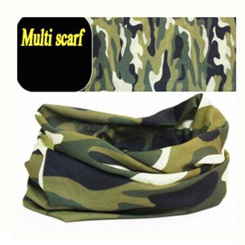 Magic Environmental Microfiber Cotton Polyester Bandana Fabric Multifunctional Seamless Wear Headband Motorcycle Army  Scarf