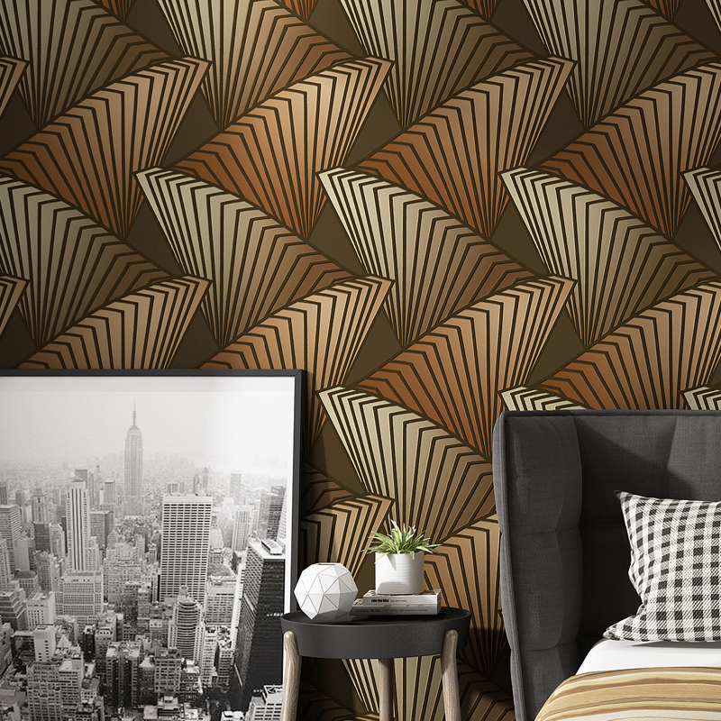 Behang Personalized 3D Wallpapers Home Improvement Waterproof Embossed PVC TV Background Wallpaper Roll for Walls papel parede in Wallpapers from Home Improvement