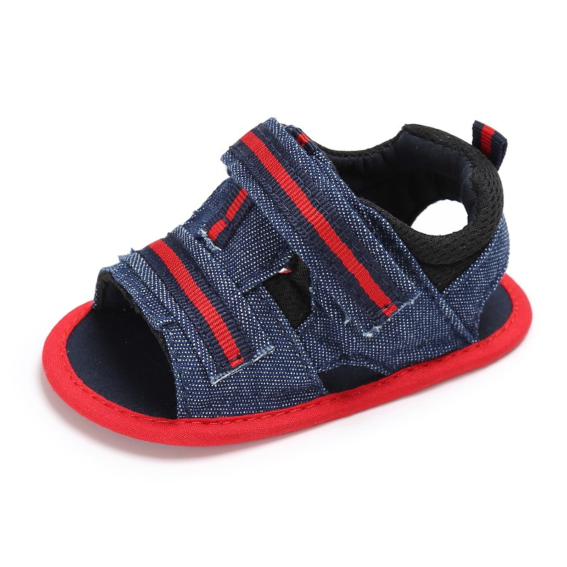 Summer Casual Style Kids Infant Toddler Baby BoysSandals Canvas Shoes Newborn Soft Shoes ...