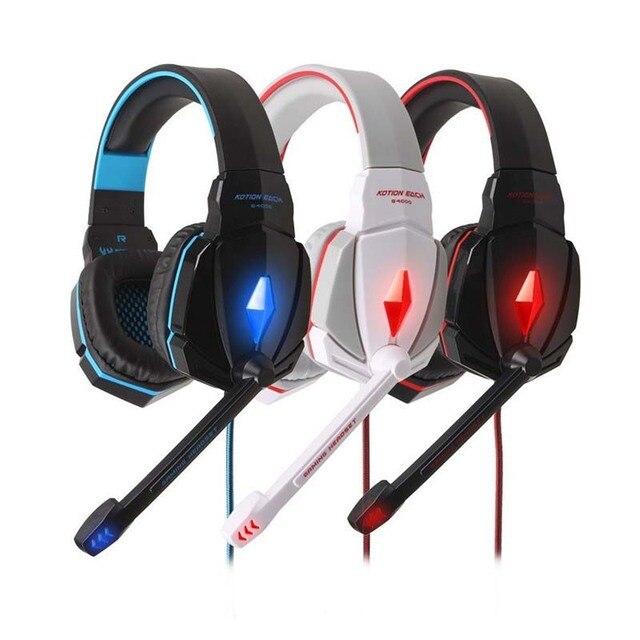 EACH G4000 Проводной 2.1 м Компьютер наушники с микрофоном шлем геймер Игровая Гарнитура Игры Для Наушников с Микрофоном Для Компьютера