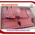 Laminação de Vidro NOVO com Moldura LCD almofada de silicone macio Molde para Iphone 7 & 7 Além de almofada de gel de sílica molde tapete de espuma adesiva gabarito