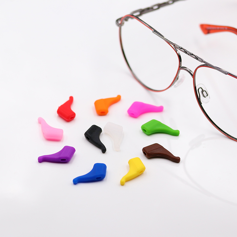 COLOUR_MAX Free Shipping 1 pair  Silicone Sunglasses Glasses Eyeglasses Anti Slip  Ear Hook