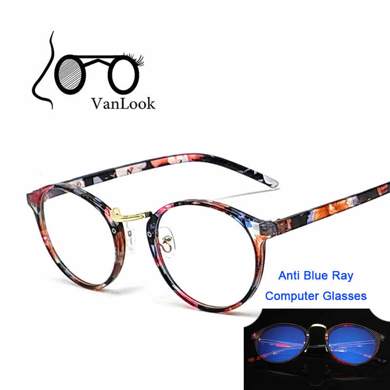 ad66579060 ... Round Transparent Eyeglasses Anti Blue Ray Computer Glasses Men Women  Fashion Spectacle Frame Oculos De Grau ...