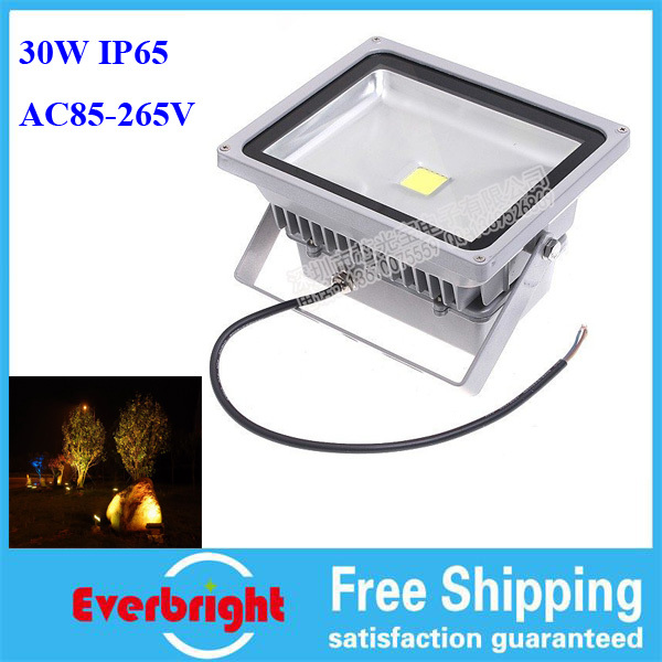High Power Waterproof 30W LED Flood Light Warm White/Cool White AC85-265V LED Flood Lamp