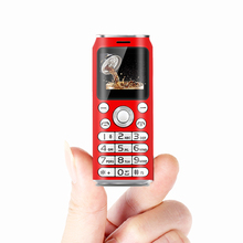 Cola Shape Mobile Phone Bluetooth dialer Dual SIM Card Mini Phone 350mAh Camera MP3 Player Unlocked Cellphones Kids Phone cheap FSMART Detachable POCKET 128M other NONE Nonsupport Others 2 SIM Card 128*96 Micro Usb Feature Phones MP3 Playback Memory Card Slots