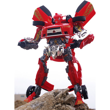 Transformed sound and light version Cars Robots Toy Action Figures Deformation Cars model Toys Children gifts Classic Brinquedos