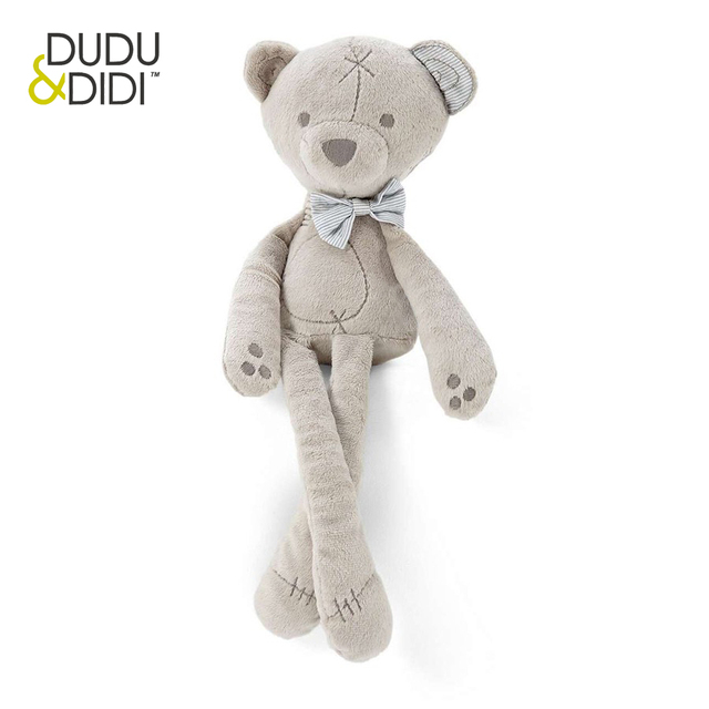 35cm Baby plush bear sleeping comfort doll  toys Millie & Boris Smooth Obedient bearSleep Calm Doll - WJ190