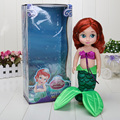 30cm New The little mermaid Ariel mermaid princess Furnishing articles Action Figure Toy Doll