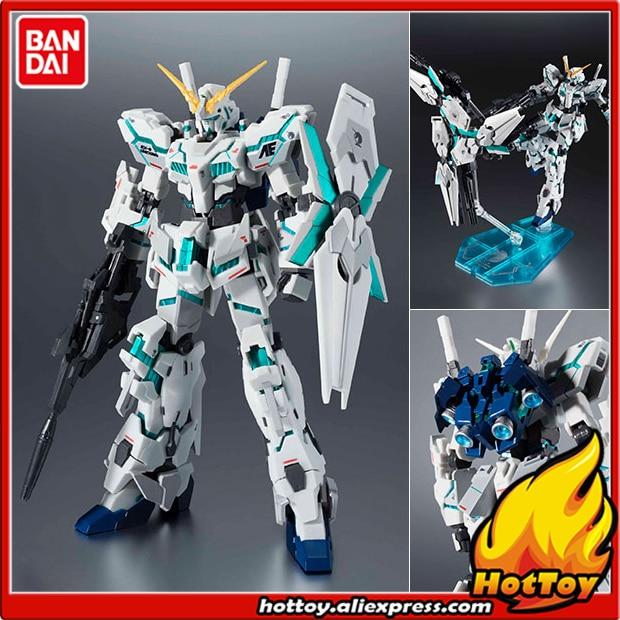 Оригинальный BANDAI Робот Духи 235 фигурку единорог Gundam (проснулся Тип) реальная маркировки Ver. Mobile Suit Gundam Единорог