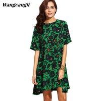2017 Summer Floral Print Women Chiffon White Dress Ruffle Off Shoulder Spaghetti Strap Female Tunic Girl