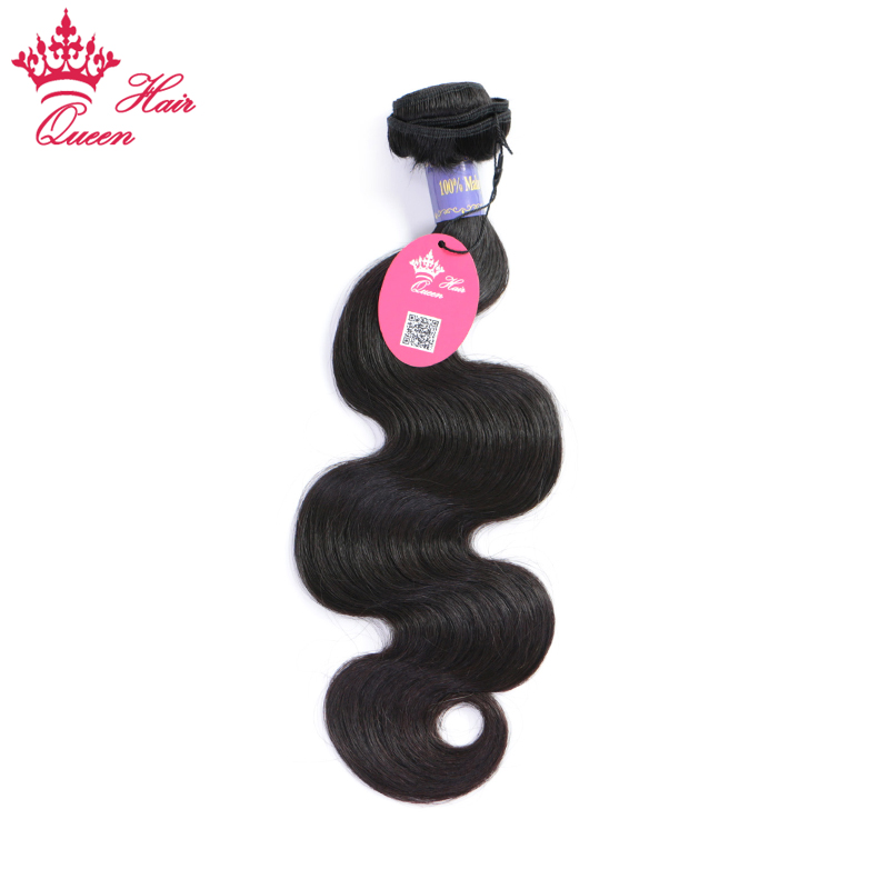 Malaysian Body Wave 100% Human Hair Bundles Natural Black #1B 8-30 in stock Remy Hair Ca ...