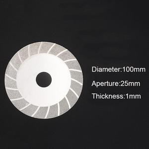 Image 5 - ล้อบด Electroplated Diamond SAW ใบมีดตัดสำหรับเครื่องบดมุมโรตารี่เครื่องมือ
