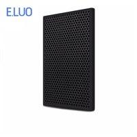 Luftreiniger Teile Aktivkohle Filter Für Benutzerdefinierte Filter 196*498*10mm Für Panasonic F ZXKD55Z-in Luft-Reinigungsapparat Teile aus Haushaltsgeräte bei