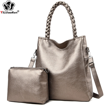 Casual Handbags Sets for Ladies High Quality Leather Shoulder Bag Large Capacity Crossbody Bag Luxury Brand Messenger Bags 2019 cow leather women handbags 2020 fashion large capacity shoulder messenger bag high quality ladies casual tote louis vuitton bags