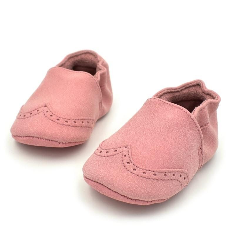 Newborn Spring Colour Baby Soft Anti-slip First Walker Shoes 5