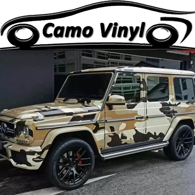 Neu Wuste Camouflage Vinyl Wrap Urban Camo Camouflage Aufkleber
