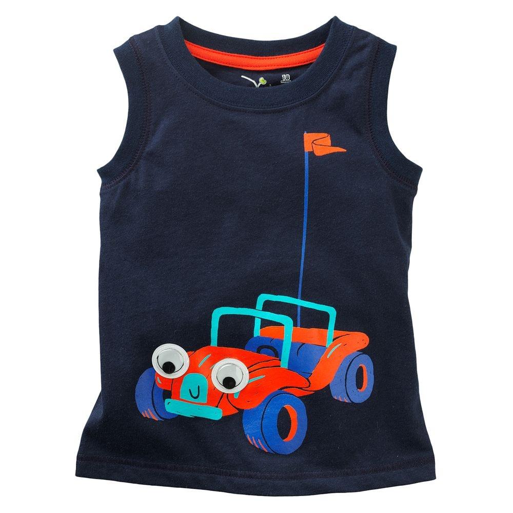 HTB1sFR1iP3z9KJjy0Fmq6xiwXXaa - brand 2018 new fashion kids clothing 100%cotton blouse childrens clothes baby boy t shirts boy's top tee cartoon car Dinosaur