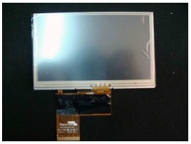 HannStar 4.3 inch TFT LCD Screen with Touch Panel HSD043I9W1-A00 WQVGA 480(RGB)*272