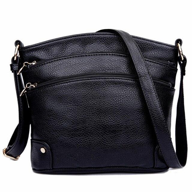 Moda de Nova Bolsa De Couro Para Mulheres Bolsas Saco de Moda Bolsas de Marcas Famosas Mulheres Saco Do Mensageiro Bolsas Sac a principal