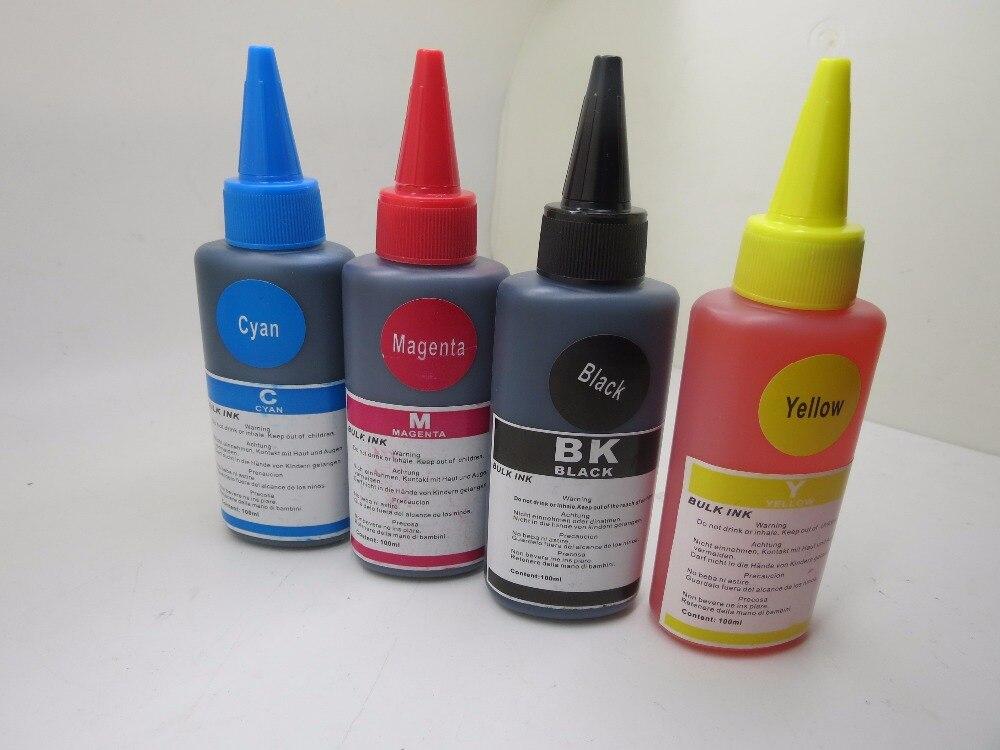 Specialized Bulk Ink K M C Y Dye Based Non Refill Ink Kit for Epson L210