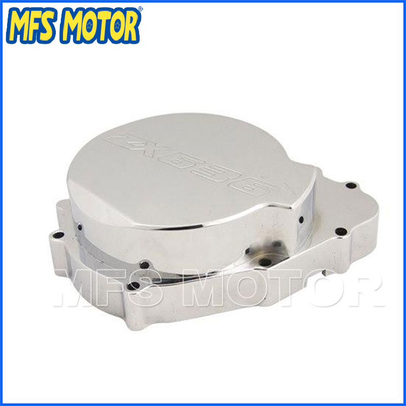 Freeshipping Motorcycle Stator Engine Crankcase Cover For Kawasaki ZX6R <font><b>2003</b></font> 2004 03 04 ZX <font><b>636</b></font> <font><b>2003</b></font> 2004 03 04 ZX-6R 03 04 image