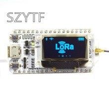 868mhz/915mhz lora esp32 oled wifi sx1276 módulo iot com antena para arduino eletrônico pcb nova versão