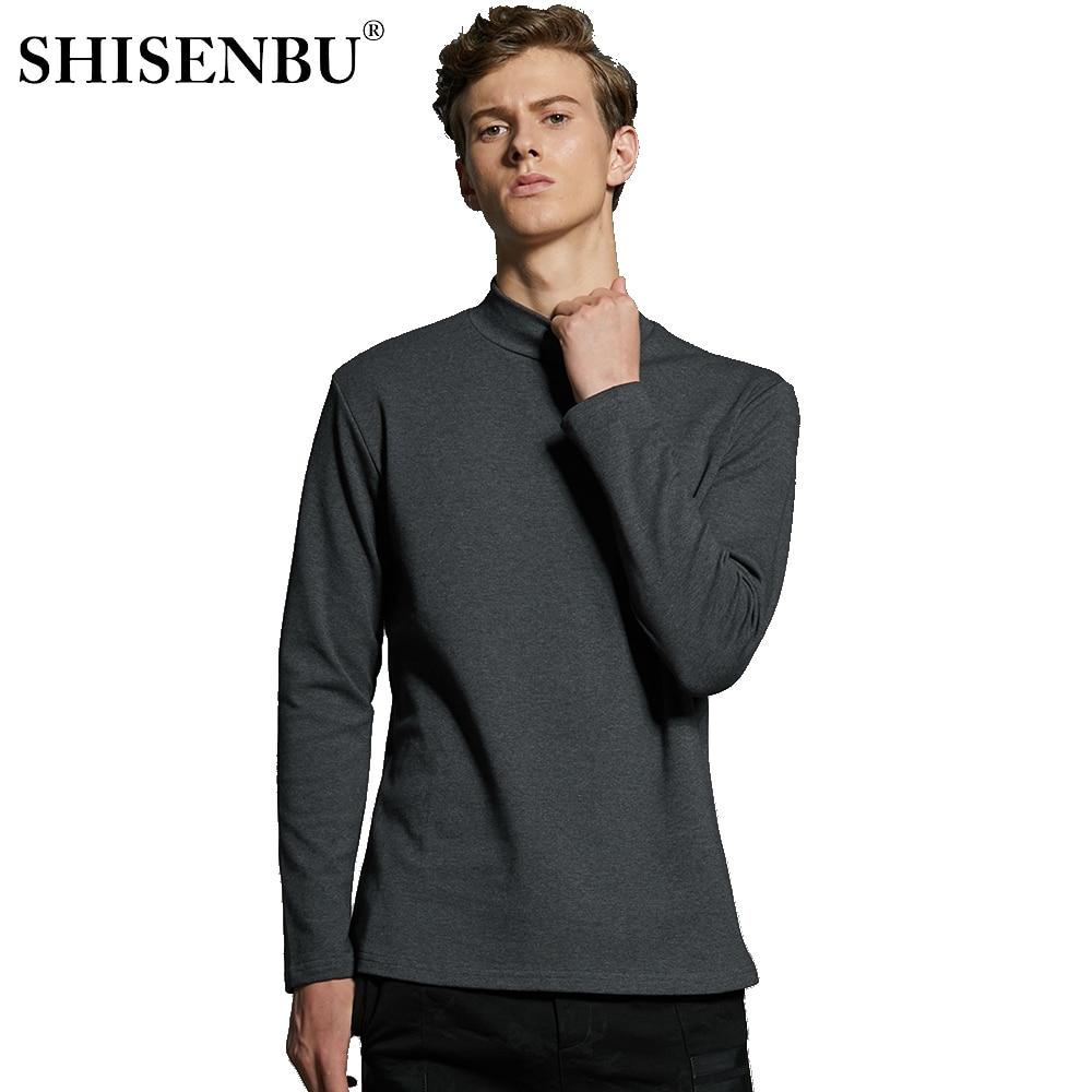Male Underwear Shirt High Neck Winter Bodysuit Mens Warm Clothes Thermal Undershirts Thick Basic Tops Cotton Undershirt Tshirt (13)