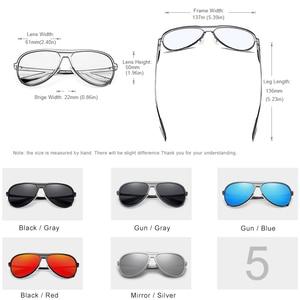 Image 3 - KINGSEVEN gafas polarizadas de aluminio para hombre, anteojos de sol masculinos de lujo, adecuados para conducir, con protección UV400
