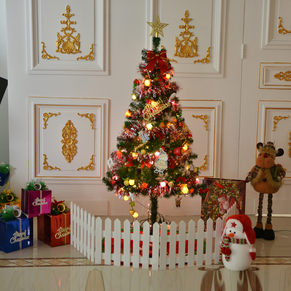 Large ornaments - 1 Set Artificial Christmas Tree Ornaments Ball Christmas 150cm Merry Christmas Decoration Supplies Large Xmas Tree