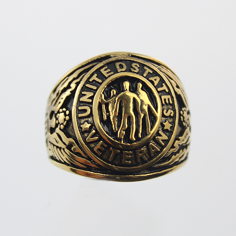 2017 New Arrival US Military War Veteran Jewelry Military Rings for