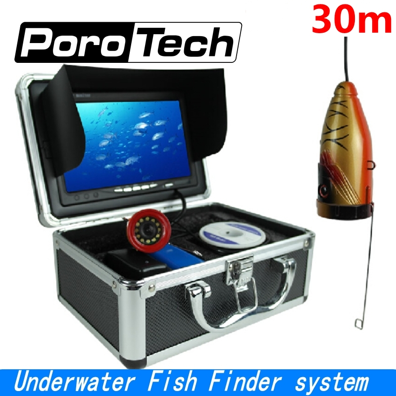 SY710 30m Professional Underwater Fish Finder system 7LCD Monitor 1000TVL Video Underwater Camera Ice Lake Fishing camera цена