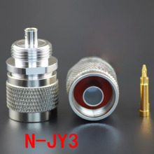 10pcs/lot RF Coaxial Connector N-JY3 N Male Through Wall 141 Cable