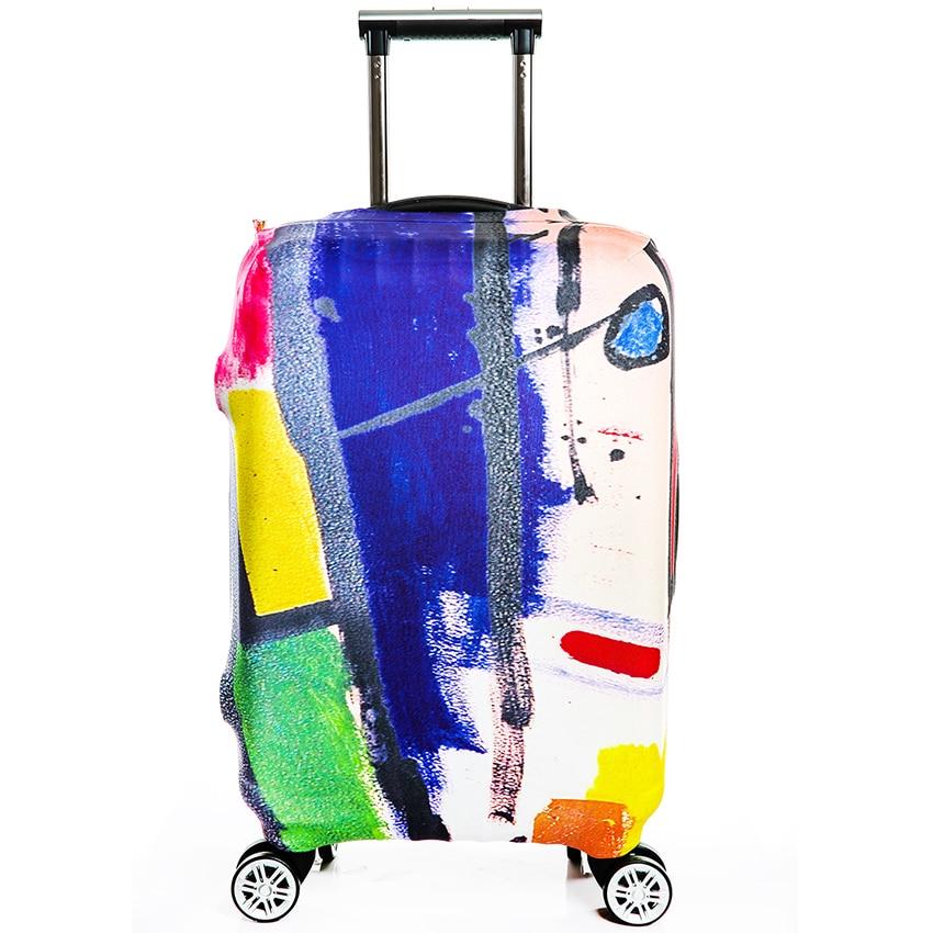 Ceļojuma kofera pārsega somiņa Elastīga bieza bagāžas pārsega - Ceļojumu piederumi