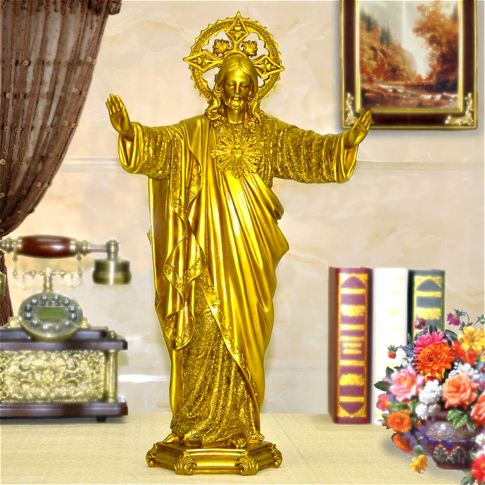 2019 HOT SALE Large # TOP Art Roman Catholicism Jesus