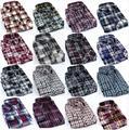 BRAND PROMOTION !2016 New style Fashion Casual Grid long-sleeved mens plaid shirts, Fashion Leisure styles lim fit flannel shirt
