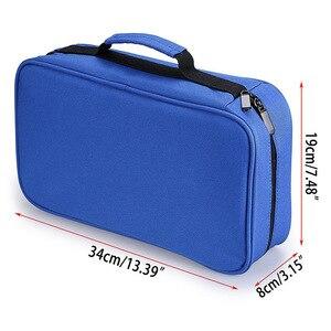 Image 5 - CHENYU 60 大容量ハンディアートマーカーケースカヴァジッパーコピックマーカー口紅ため学生アートオフィス用品