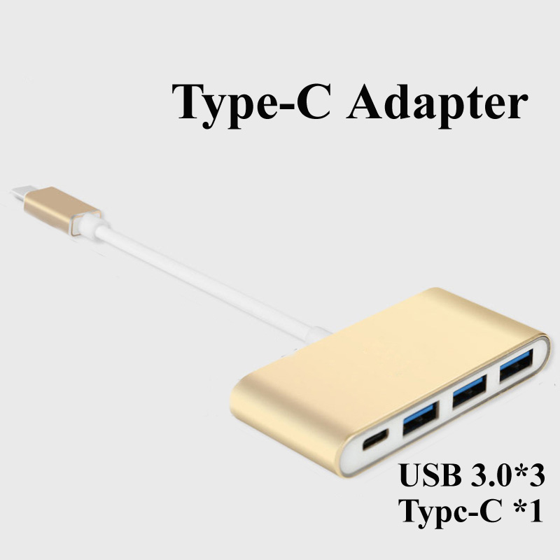 Type-C Adapter USB HUB For Macbook Retina 12 Pro 13 15 2016 Type C to Type C / USB 3.0 for Samsung S8 Plus Type-C Charge Cable 85w t type magsafe2 car charger adapter for apple macbook mac pro 15 17 retina laptop