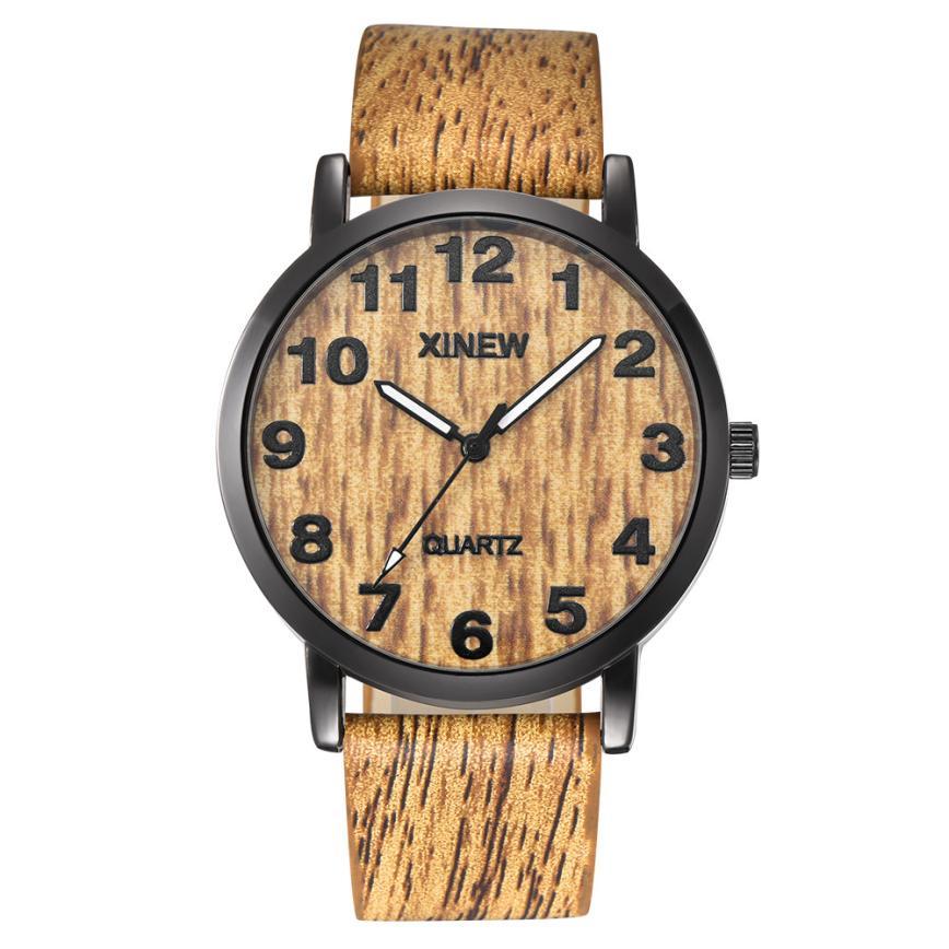 Women Watches Wooden Quartz N03 Imitation Retro Reloj-Mujer Men's