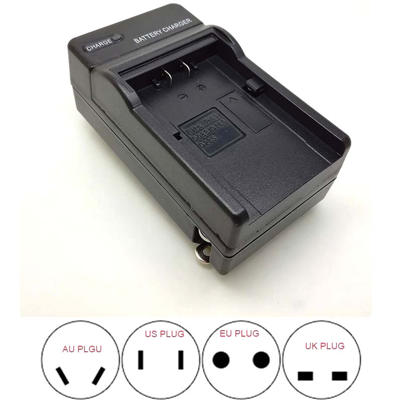 NEW Travl Home Battery Charger For PS-BLM1 Olympus BLM-1 C-5060 C-7070 C-8080