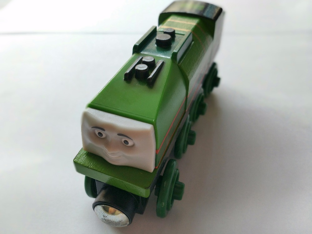 Wooden Train T060W GATOR Fit for Tomas Trackmaster Magnetic Truck Car Locomotive Engine Railway Toys for Boys