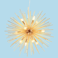 цена Modern Hedgehog Gold Pendant Light Restaurant Hanging Indoor Light Contemporary Suspension Pendant Lamp Living Room Villa онлайн в 2017 году