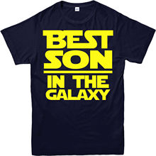 Best Son in The Galaxy T-Shirt, Last Jedi, A new hope Star Wars Free shipping  Harajuku Tops Fashion Classic