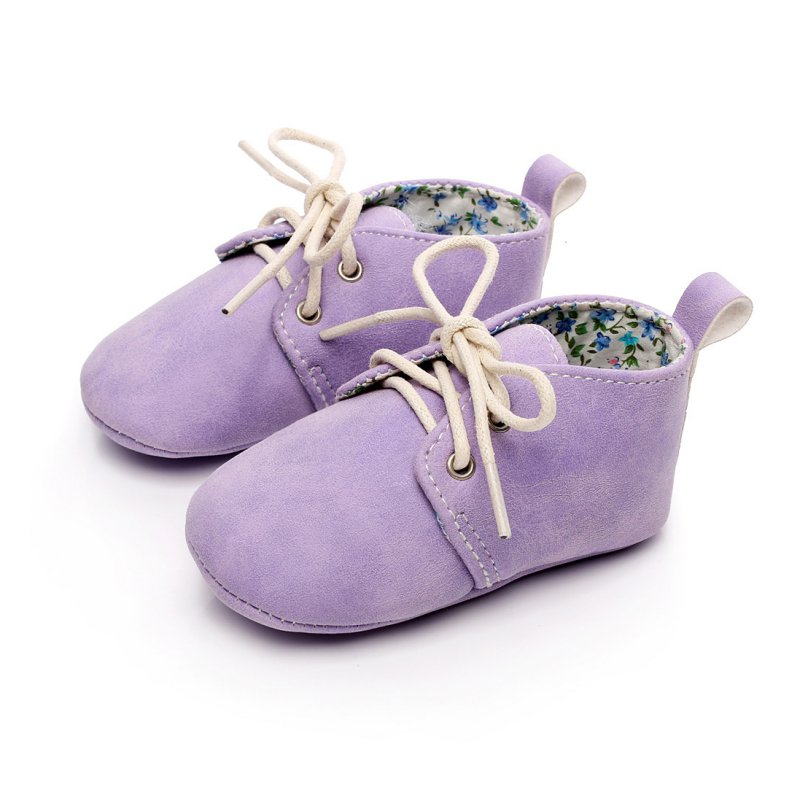Baby Boys Girls PU Leather Infant Toddler Sneakers Crib Newborn Kid Babe Soft Soled Classic Casual Shoes for 0-2 Years