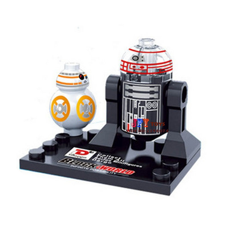 Single Sale star wars superhero BB8 R2D2 building blocks model bricks toys for children brinquedos menino single sale star wars superhero decool green lantern building blocks model bricks toys for children brinquedos menino