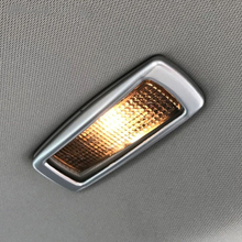 Fit For Skoda Kodiaq 2017 2018 ABS Matte Car rear reading Lampshade Cover Trim car styling accessories 4pcs