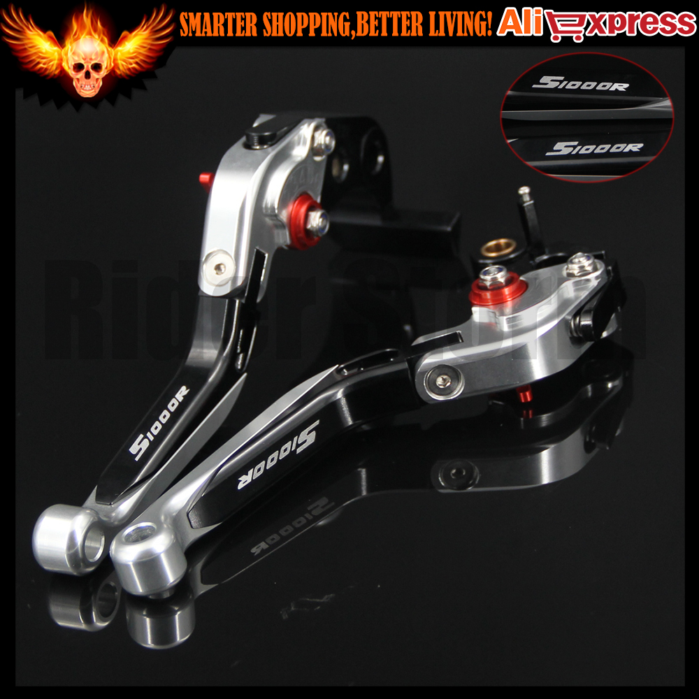 2016 Hot sale For BMW S1000R 2014 w and w o CC CNC Folding Extendable Adjustable