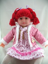 free shipping baby wig hat photo prop photography prop crochet baby wig hat cabbage patch hat